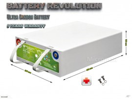 Deep cycle solar storage battery 12V 130Ah Ultra Lead Carbon Battery