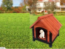 NZ Pine Wood Dog Kennel Dog House