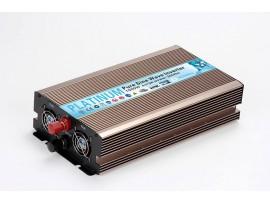 Pure Sine Wave Power Inverter 1500W DC USB 12V-230V Converter Overload Protectio
