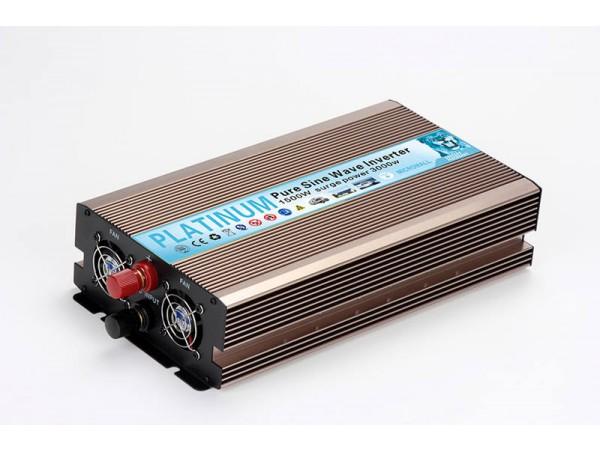 Pure Sinewave Inverter 1500W DC USB 12V-230V Converter Overload Protectio