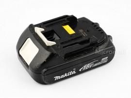 Used Genuine Makita BL1815N 18V 1.5Ah Lithium-Ion Battery