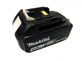 Used Makita 18v 4.0ah Battery BL1840 1830 with LED indicator