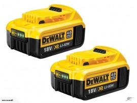 Dewalt 18V/20V 4.0ah battery DCB204/DCB182