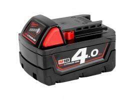 genuine milwaukee m18 b5 m18tm 4.0 ah red battery