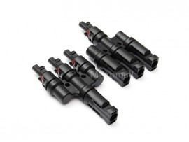 3 in 1 - MC4 Solar Connectors - 1 Pair