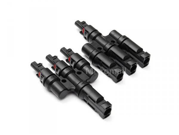 3 in 1 - MC4 Solar Connectors - 1 Pair