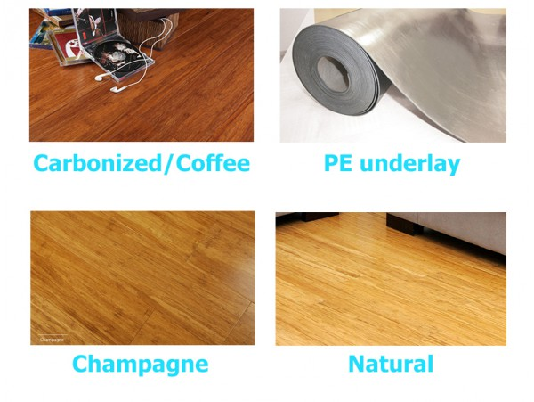 Champagne Premium Compressed Bamboo Flooring