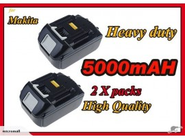 2 x replacem Makita Battery BL1850 18V 5.0 AH