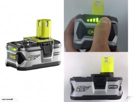 genuine RYOBI ONE+ 18V 5.0AH LITHIUM RB18L50