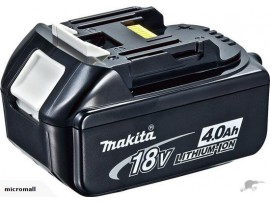 2x used makita Battery BL1840 1830 18v 4.0ah