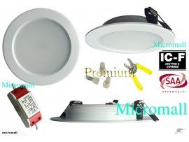 6 X 12W Led ceiling downlight 2700K warm white