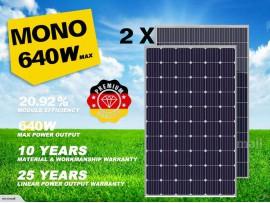 Premium 2020 2pcs mono Solar Panel Grade A+ 310/320W 12V/24V/31.5V