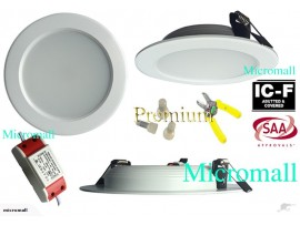 9w Led ceiling downlight 870 lumens 2700k dimmbale