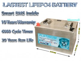 upgrade 2020 12v 260ah lifepo4 battery deep cycle solar bank
