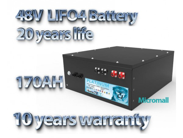 2020 latest lifepo4 48V 170ah solar battery 6000 cycle times