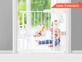 High Quality Baby Gate / Safety Gate with 12cm Extension 76cm - 100cm