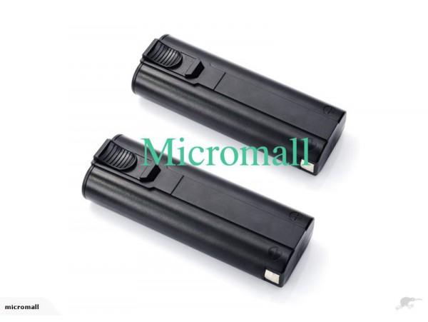 2 x Repl paslode battery 6v 2.0 ah 2000mAh 3612502