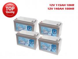 2020 deep cycle Solar Battery Combo gel