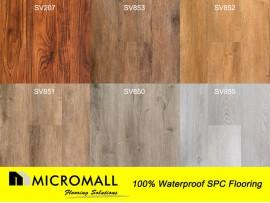 100% Water Proof AC4 Luxury SPC Vinyl flooring SPC flooring per square meter