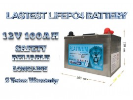 2020 12v 100ah lifepo4 battery deep cycle solar and  power storage battery 20 ye