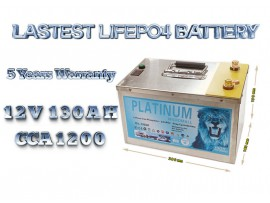 2020 12v 130ah lifepo4 battery deep cycle solar and  power storage battery