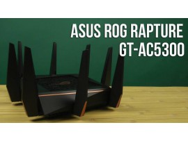 ROG Rapture Wireless-AC5300 tri-band gaming router Best for VR,4K streaming