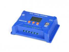 30A 12V 24V PWM Solar Charge Controller