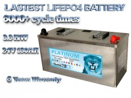 2020 24v 130ah lifepo4 battery deep cycle solar and start battery