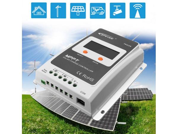 solar controller mppt new Tracer2210AN 20A 12V/24V MPPT Solar Charge Controller