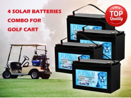 2020 deep cycle Solar Battery Combo