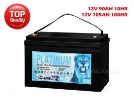 2019 Solar Battery 90Ah 105Ah 100hr 12V AGM GEL 2.0 Deep Cycle Solar Battery