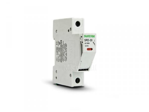 Suntree SRD-30 DC 1000V 30A Fuse Holder Thermal Solar PV Fuse Base Switch TUV CE