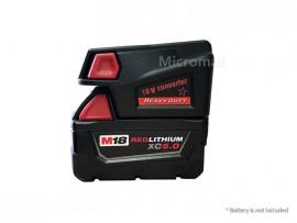 Adapter Converter for Milwaukee M18 18V Li-ion Battery to Milwaukee V18 Battery
