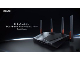 ASUS RT-AC88U Dual Band AC3100 Router UFB for spark,vodafone upgrade Aimesh vpn