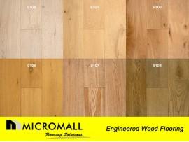 Engineered Wood Flooring 190mm Oak Flooring Wooden Flooring per square meter
